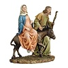 "10""H La Posada Figure of the Holy Family"
