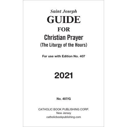 Christian Prayer Guide For 2021 (Large Type)
