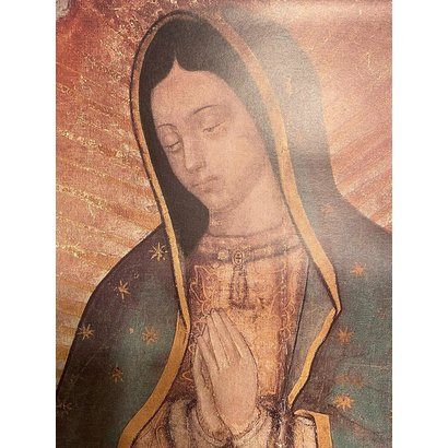 Our Lady of Guadalupe, Full Image Wall Plaque 19X15