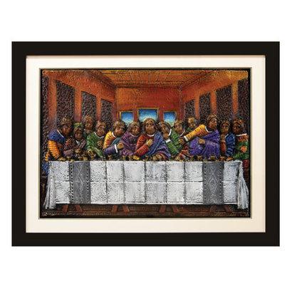 Last Supper Relief Art
