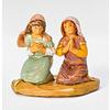 5 inch scale Junia and Eve Kneeling Figure, Fontanini