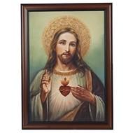 Sacred Heart of Jesus,  20Wx27H Art Frame