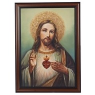 Sacred Heart of Jesus, 20x27