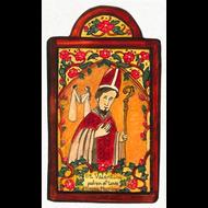 Saint Valentine Small Size Retablo