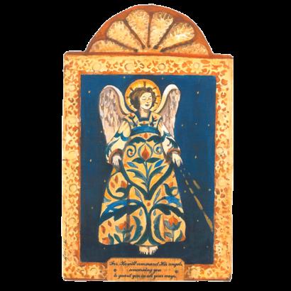 Guardian Angel Pocket Retablo
