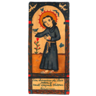 Saint Anthony of Assisi Small Size Retablos
