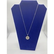 """1"""" St. Benedict Medal on 18"""" Chain- Stainless Steal"""