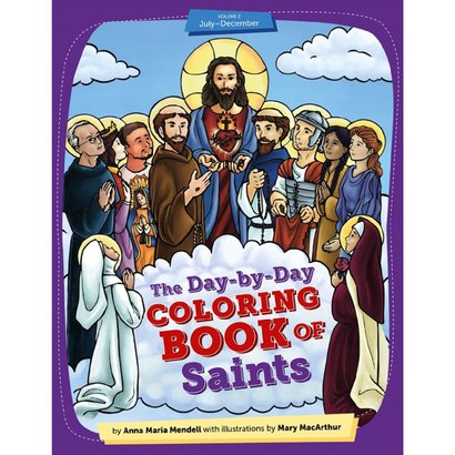 DAY-BY-DAY COLORING BOOK OF SAINTS