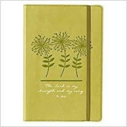 Journal- Lux Leather- Green