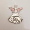 "Angel Ornament, ""Sparkle Brilliantly & Shine Brightly"""