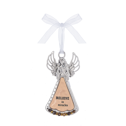 Angel Ornament- Believe in Miracles