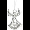 Angel Ornament- May faith light your path
