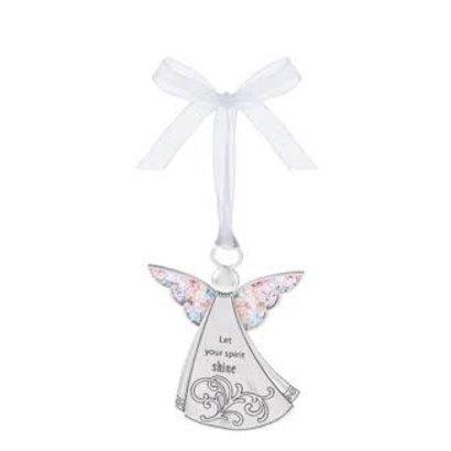 Angel Ornament- Let your spirit shine