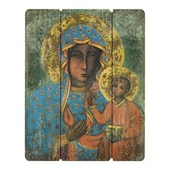 OL of Czestochowa, Virgin Mary & Baby Jesus