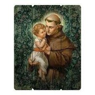 "15"" Saint Anthony Wall Plaque"