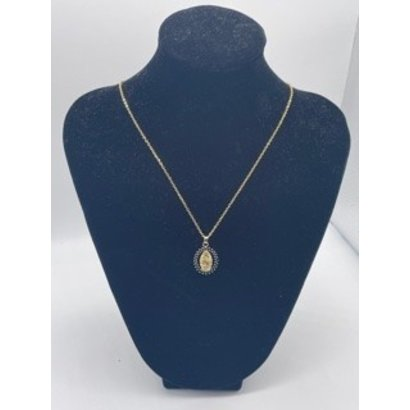Our Lady of Guadalupe Blue Pendant