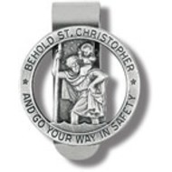 St. Christopher Visor Clip Go Your Way Safety