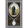 """Genuine Pewter """"My Saint Peregrine Medal"""""""