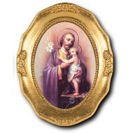 SAINT JOSEPH GOLD LEAF FRAME