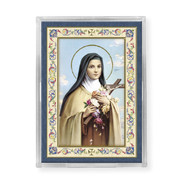 SAINT THERESE ACRYLIC EASEL WITH MAGNET