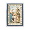 HOLY FAMILY ACRYLIC EASEL WITH MAGNET