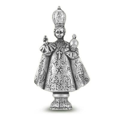 "Infant of Praque Saint Statue  1 3/4"""