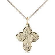 4-Way Medal Cross