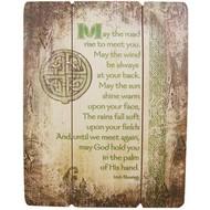 """Irish Blessing Plaque, 15"""""""
