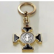 St. Benedict Cross Key Chain