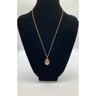 Gold Plated Miraculous Medal