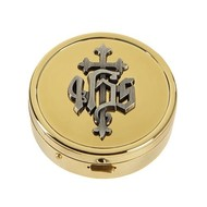 IHS Pyx 24kt gold plated