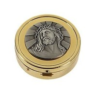 Ecce Homo Pyx 24kt Gold Plated