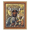 Cherry Frame w/ 8x10 Our Lady of Czestochowa Print