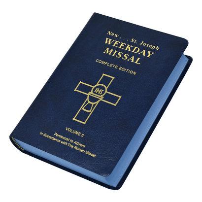 St. Joseph Weekday Missal (Vol. II / Pentecost To Advent)