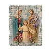 """Holy Family 7 1/2X9"""" Vintage Plaque With Hanger"""