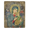 """Our Lady of Perpetual Help, 15"""" Plaque"""