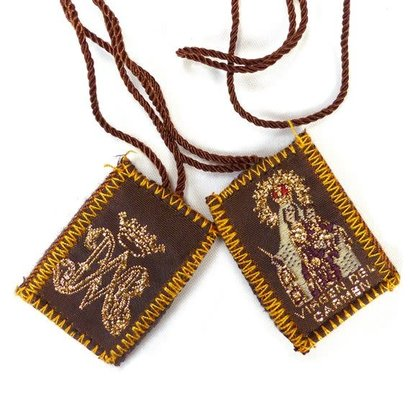 Brown Cloth Scapular, Our Lady of Mount Carmel