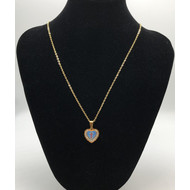 Divino Nino Pendant on  Stainless Steel Gold Plate Chain