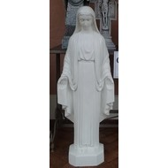 "Our Lady Of Grace, Outdoor, 42"", Flat White"