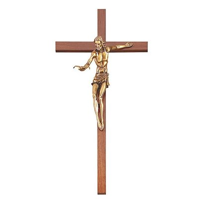 Gift of The Spirit Crucifix Gold COLORED