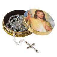 Divine Mercy Rosary Tin