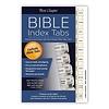 Bible Index Tabs, Horizontal