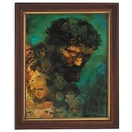 Zdinak In His Image Framed Print 12.5""