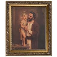 """ST JOSEPH FRAME W/CHILDJESUS 13"""""""