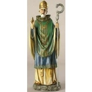 """10.5"""" St. Patrick Figure Renaissance Collection"""
