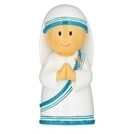 """ST TERESA OF CALCUTTA, 3""""H FIGURINE"""