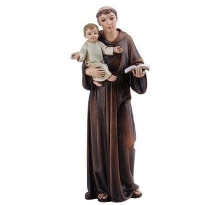 "ST ANTHONY FIGURE 4""H"