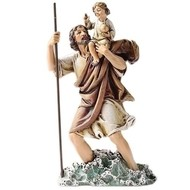 """St. Christopher, 6.5"""" statue"""