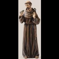 "St. Francis Statue 6.25"""