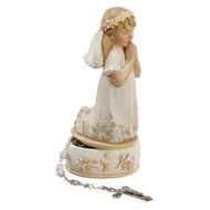 First Communion Girl Keepsake Box